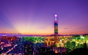 TAIWAN_101_evening_night-city_architectural_landscape_HD_wallpaper_medium